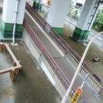 生田根岸跨線橋下公園